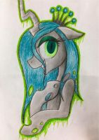 Queen Chrysalis by NicoleTheHedgehogXD