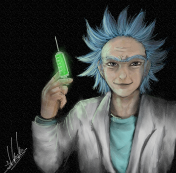 Rick and Morty - Rick by YamiriAshKyu