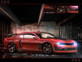 Chevrolet Camaro by xGrabx