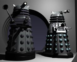 Blending Daleks by Librarian-bot