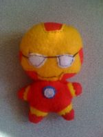 avengers iron man plushie by Jack-O-AllTrades