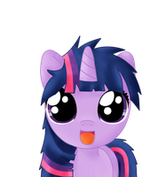 bed mane filly twilight by Sharkiity