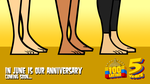 TDAS/TDPI Zoey, Courtney and Sky Barefoot by 100latino