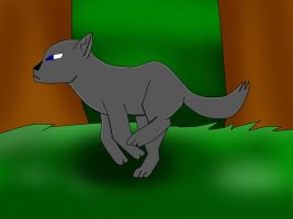Wolf Run Cycle animation (COMPLETE) by MuffinMuffinz