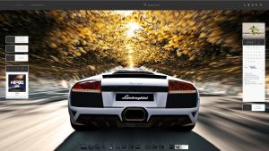 Lambo Desktop by breakerr