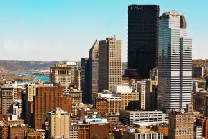 Downtown Pittsburgh by shaguar0508