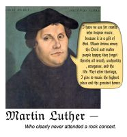 Martin Luther by jadedflower