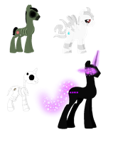 Minecraft Themed Stallions - Auction OPEN by SchattenspielKat