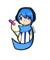 VOCALOID: Kaito Coloured by Kisetsukaze
