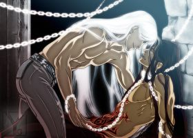 Shackled - Pyrante x Dystan by Aaorin