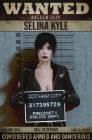 CATWOMAN Wanted Poster by DevilishlyCreative