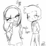 Dipper and Pacifica by Sushilover218er