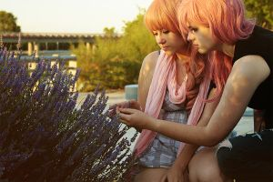 Lightning and Serah - They are beautiful by McLeea