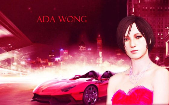 Ada in a red dress by ishtarxi