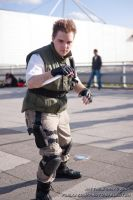 Chris Redfield Cosplay2 by KyleMarsh