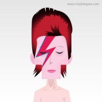 David Bowie by mr-pink-eyes