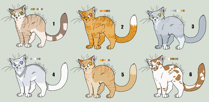 Auction Cats :CLOSED: by Soul-of-Sin