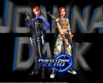 Perfect Dark Zero Wallpaper by agentuhoh7