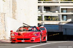 Fifty shades of Ferrari by Attila-Le-Ain