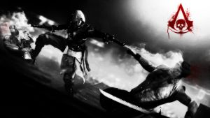 Assasin's Creed Black Flag Wallpaper by NIHILUSDESIGNS