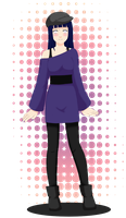 Black n Purple - Hinata by StrawberryHini