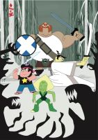 Samurai Jack/Steven Universe: things to come by sentry1996