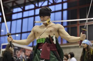 Zoro cosplay by Moskita