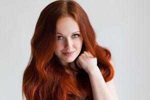Red-haired Aleksie by Aleksie