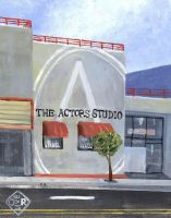 The Actors Studio by TomOliverArt