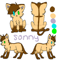 Quick Sonny Ref by Espona-Chan