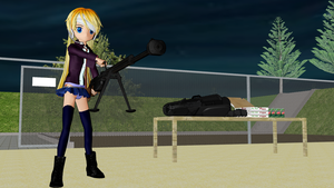 MMD Casual: Another Night At The Range by ChibiAI-kun
