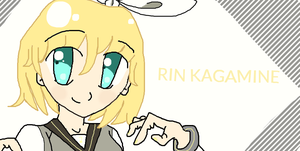 rin kagamine by anmiefreak233