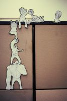Infected paper children by obliviousOUL