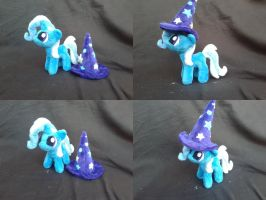 MLP FiM handmade 7 inch plush: Filly Trixie! by vulpinedesigns