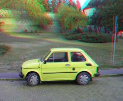 Car anaglyph by mrkane27
