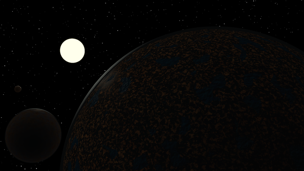 Some Odd Planets by Jetrunner