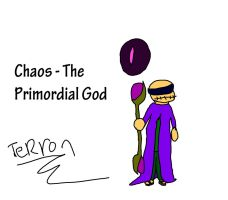Chaos - The Primordial God by Marxbowser