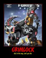 Rage of the Dinobots Issue 1 Poster by Onikage108