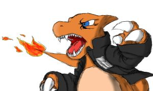 Andre the Charmeleon Attacks: Glen-i version by Glen-i
