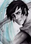 Percy Jackson, Son of Poseidon by izziwizVIII