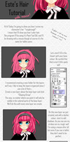 SAI Hair Tutorial - with mouse by estelaa