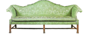 Green Antique sofa by jinifur