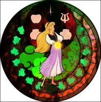 Eilonwy KH Stained Glass by bummi1