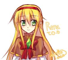 TOD Fanart Rena by Coffee-Straw-LuZi