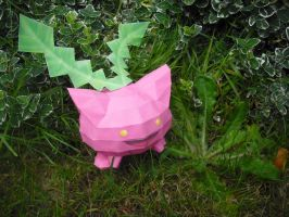 Hoppip papercraft by TimBauer92