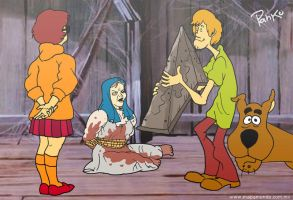 Silent Hill Scooby by pahko