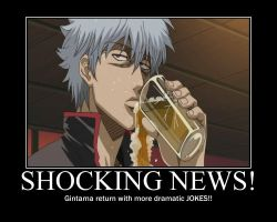 Gintama SnapPoster 1st Issues by Justfansxxx