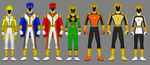 Request: Power Rangers Dragon Knights by Soluna17