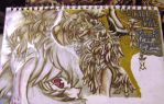 Page out of my sketchbook 3: Ragyo_Kiryuin by Hold-Your-Fire