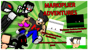 Markiplier Adventures Box Art by JeffKyler14